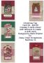 Christmas Tag Card kit
